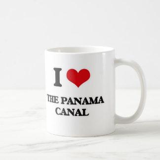 I Love The Panama Canal Coffee Mug
