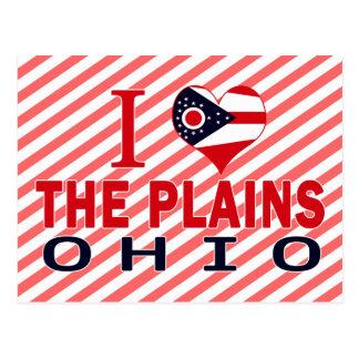 I love The Plains, Ohio Postcards
