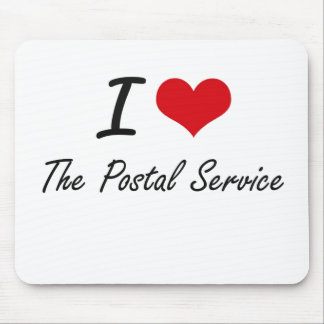 I love The Postal Service Mouse Pad