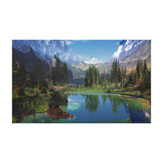 I love the Rocky Mountains Canvas Prints