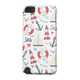 I Love The Sea Pattern iPod Touch 5G Cover