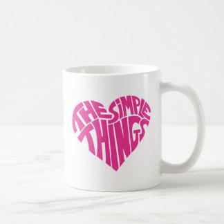 I love the simple things mug
