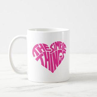 I love the simple things mugs