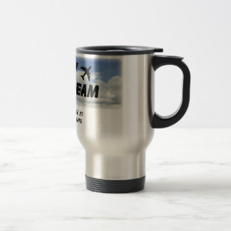 I Love The Smell Of Jet Fuel In The Morning! Travel Mug