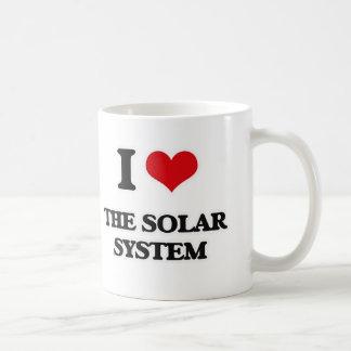 I Love The Solar System Coffee Mug