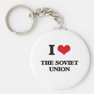 I Love The Soviet Union Key Ring