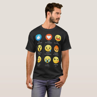 I Love The Trombone Emoji Emoticon Tee Shirt