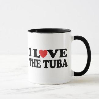 I Love The Tuba Mug