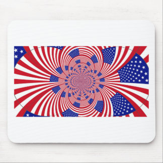 I Love The United States Mouse Pad