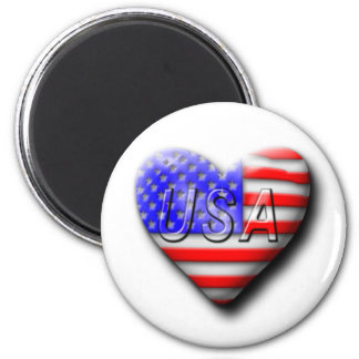 I love The USA Magnet
