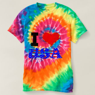 I Love The USA T-Shirt