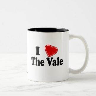 I Love The Vale Two-Tone Coffee Mug