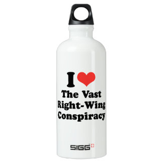 I LOVE THE VAST RIGHT WING CONSPIRACY - .png SIGG Traveller 0.6L Water Bottle