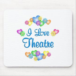 I Love Theatre Mousepads