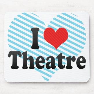 I Love Theatre Mouse Pad