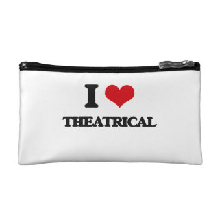 I love Theatrical Cosmetic Bag