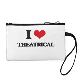 I love Theatrical Coin Purses