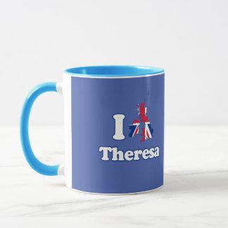 I Love Theresa - GBR -- -  Mug
