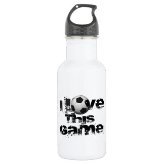 I Love This Game Soccer 532 Ml Water Bottle