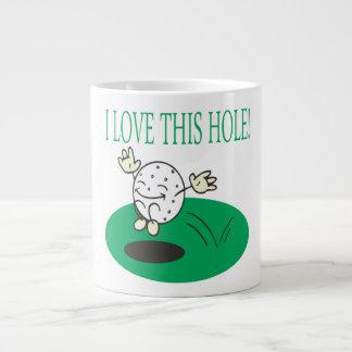 I Love This Hole Jumbo Mug