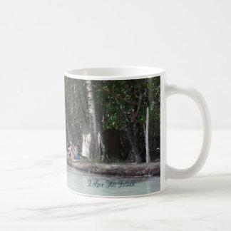 I love This Island  - Lat & Long  - Island Mug