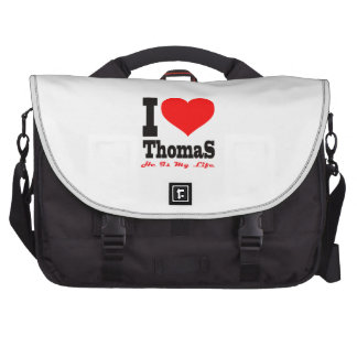 I Love Thomas He Is My Life Laptop Computer Bag