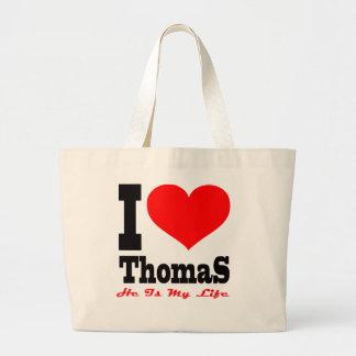 I Love Thomas He Is My Life Tote Bag