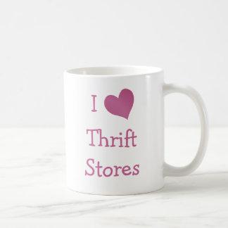 I Love Thrift Stores Coffee Mug