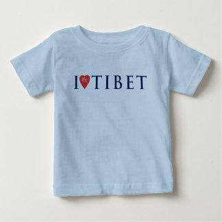 I Love Tibet Infant Cotton Tee