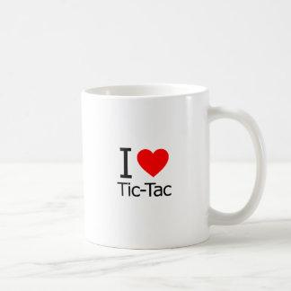 I Love Tic-Tac Basic White Mug