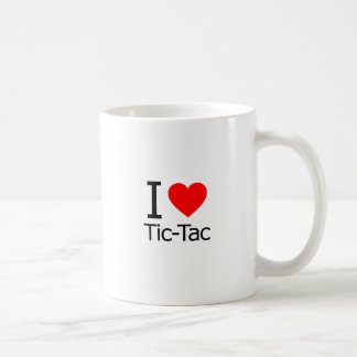 I Love Tic-Tac Coffee Mug