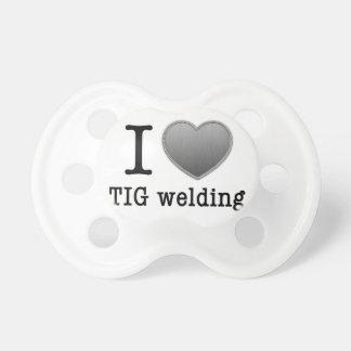 I love TIG welding Baby Pacifiers