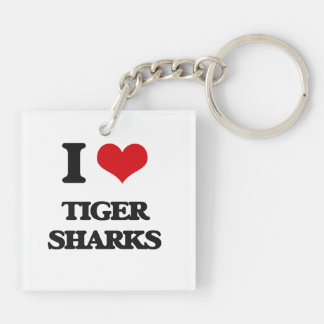 I love Tiger Sharks Key Chains