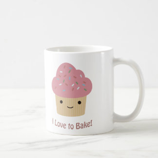 I love to bake coffee mug