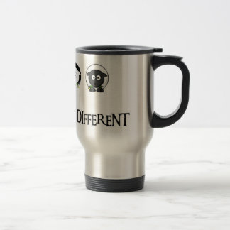 I Love to Be Different - Black Sheep Travel Mug
