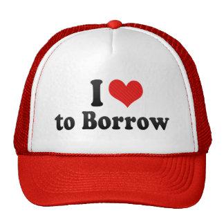 I Love to Borrow Hats