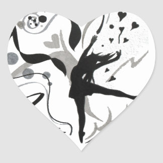 I Love To Dance! Heart Sticker