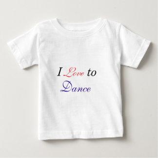I Love to Dance T-shirts
