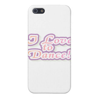 I Love to Dance Tshirts and Gifts iPhone 5 Cover