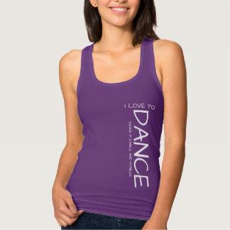I Love to Dance woman's shirt