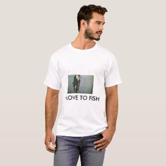 I love to Fish Men's T-Shirt
