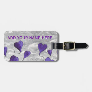 I LOVE TO FLY LUGGAGE TAG