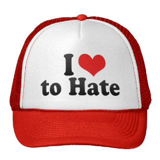 I Love to Hate Trucker Hat