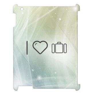 I Love To Holiday iPad Case