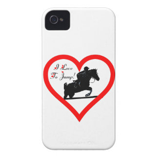 I Love To Jump! Horse iPhone 4/4S ID Case iPhone 4 Covers