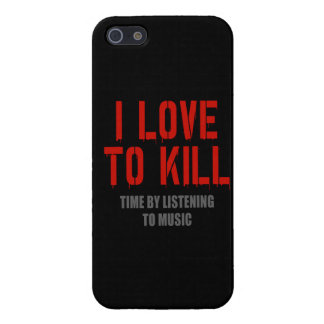 I Love To Kill Time iPhone 5 Cover