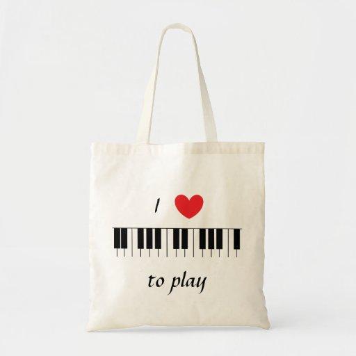 """I Love to Play"" Bag"