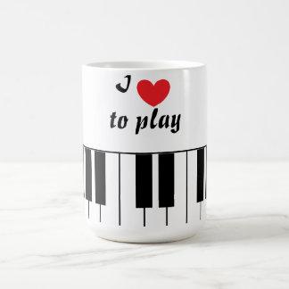 """I Love to Play"" Mug"