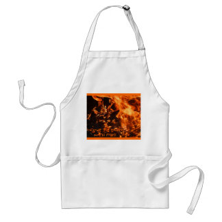 """""""I Love To Play With Fire"""" BBQ Apron"""