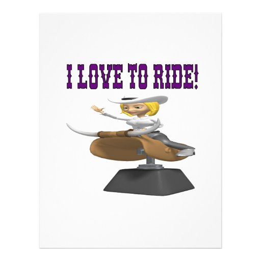 I Love To Ride Flyer